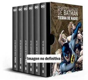 ESTUCHE GRANDES SAGAS DE BATMAN: BATMAN. TIERRA DE NADIE VOL. 1 A 6