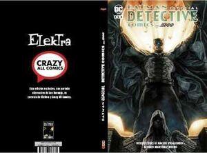 BATMAN: ESPECIAL DETECTIVE COMICS 1000 (PORTADA ELEKTRA COMIC)