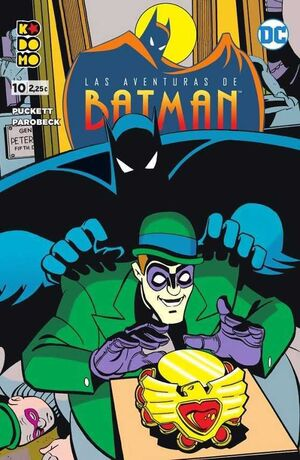 LAS AVENTURAS DE BATMAN #10 (KODOMO)