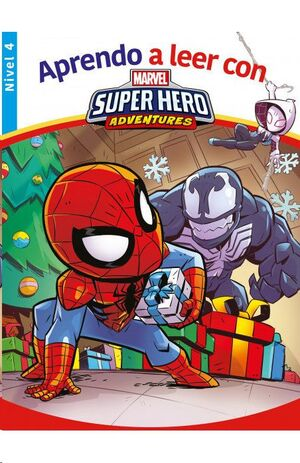 APRENDO A LEER CON MARVEL SUPER HERO ADVENTURES (NIVEL 4)