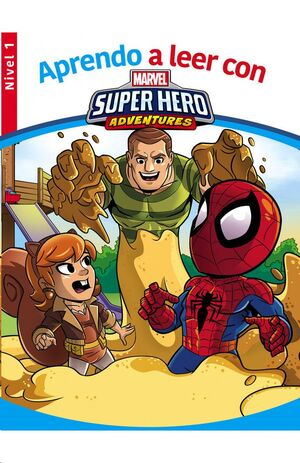 APRENDO A LEER CON MARVEL SUPER HERO ADVENTURES (NIVEL 1)