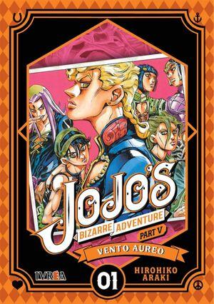 JOJO'S BIZARRE ADVENTURE PARTE 05. VENTO AUREO #01