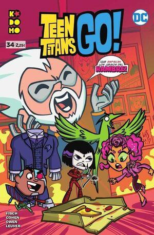 TEEN TITANS GO! #34 (GRAPA ECC)