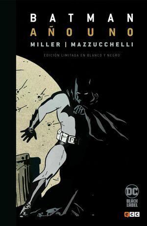 BATMAN: AÑO UNO (EDICION DELUXE EN BLANCO Y NEGRO)