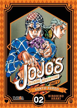 JOJO'S BIZARRE ADVENTURE PARTE 05. VENTO AUREO #02