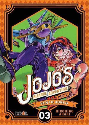JOJO'S BIZARRE ADVENTURE PARTE 05. VENTO AUREO #03