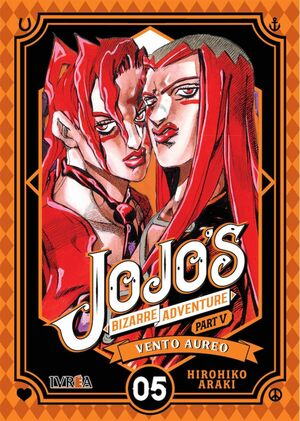JOJO'S BIZARRE ADVENTURE PARTE 05. VENTO AUREO #05