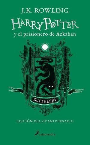 HARRY POTTER Y EL PRISIONERO DE AZKABAN (EDICION SLYTHERIN 20 ANIVERSARIO)
