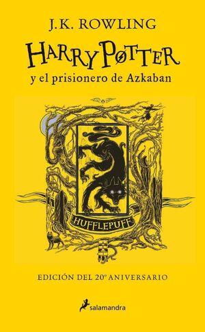 HARRY POTTER Y EL PRISIONERO DE AZKABAN(EDICION HUFFLEPUFF 20 ANIVERSARIO)