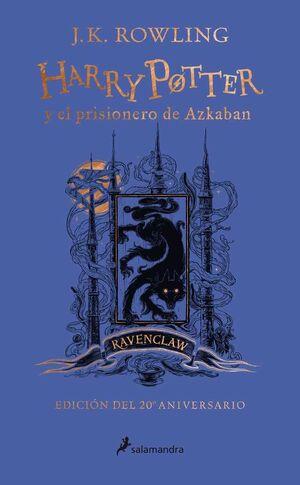 HARRY POTTER Y EL PRISIONERO DE AZKABAN (EDICION RAVENCLAW 20 ANIVERSARIO)