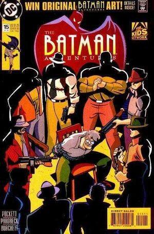 LAS AVENTURAS DE BATMAN #15 (KODOMO)