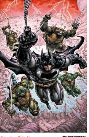 BATMAN: TORTUGAS NINJA #03 (RTCA)
