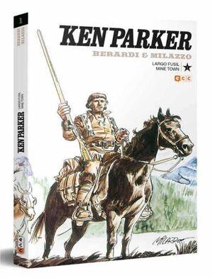 KEN PARKER #01. LARGO FUSIL / MINE TOWN