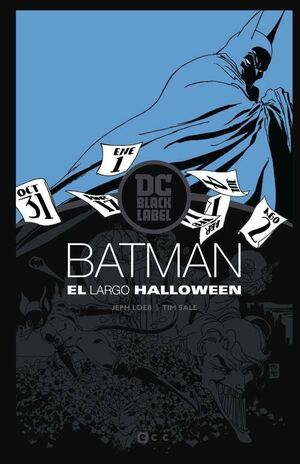 BATMAN: EL LARGO HALLOWEEN ED. DC BLACK LABEL