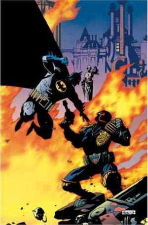 BATMAN / JUEZ DREDD (CARTONE)