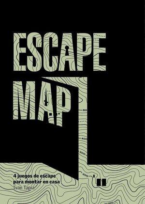 ESCAPE MAP. 4 JUEGOS DE ESCAPE PARA MONTAR EN CASA