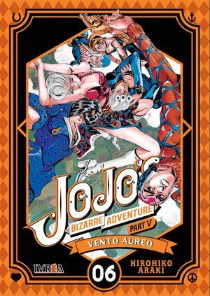 JOJO'S BIZARRE ADVENTURE PARTE 05. VENTO AUREO #06