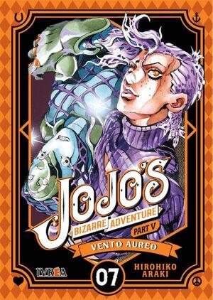 JOJO'S BIZARRE ADVENTURE PARTE 05. VENTO AUREO #07