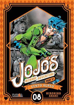 JOJO'S BIZARRE ADVENTURE PARTE 05. VENTO AUREO #08