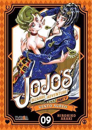 JOJO'S BIZARRE ADVENTURE PARTE 05. VENTO AUREO #09