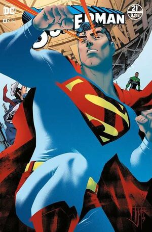 SUPERMAN MENSUAL VOL.3 #100 / 021 (PORTADA ESPECIAL DE ACETATO)