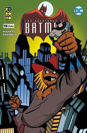 LAS AVENTURAS DE BATMAN #19 (KODOMO)