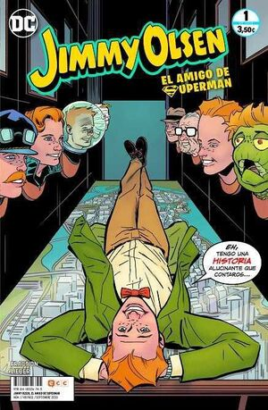JIMMY OLSEN, EL AMIGO DE SUPERMAN #01