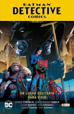 BATMAN SAGA: BATMAN DETECTIVE COMICS V5. UN LUGAR SOLITARIO PARA MORIR