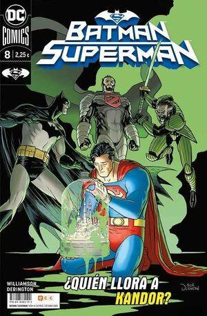 BATMAN / SUPERMAN #008 QUIEN LLORA A KANDOR? (GRAPA)