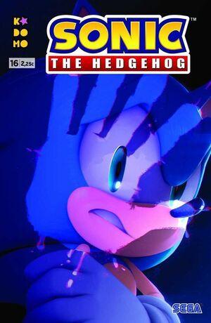 SONIC THE HEDGEHOG #16 (GRAPA - ECC)