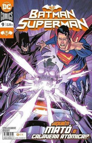 BATMAN / SUPERMAN #009 QUIEN MATO A CALAVERA ATOMICA? (GRAPA)