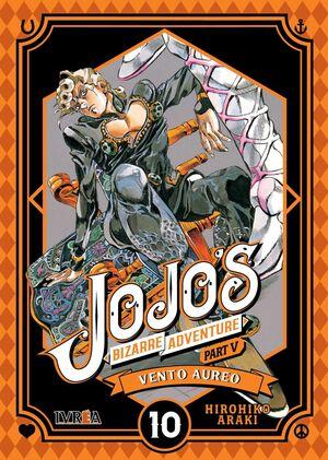 JOJO'S BIZARRE ADVENTURE PARTE 05. VENTO AUREO #10