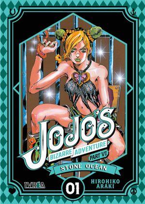 JOJO'S BIZARRE ADVENTURE PARTE 06. STONE OCEAN #01