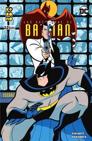 LAS AVENTURAS DE BATMAN #22 (KODOMO)