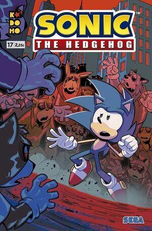SONIC THE HEDGEHOG #17 (GRAPA - ECC)