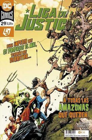 LIGA DE LA JUSTICIA #107. LA NUEVA LIGA DE LA JUSTICIA #029