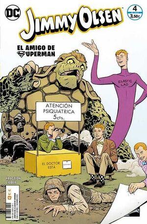 JIMMY OLSEN, EL AMIGO DE SUPERMAN #04