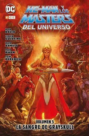 HE-MAN Y LOS MASTERS DEL UNIVERSO #05. LA SANGRE DE GRAYSKULL