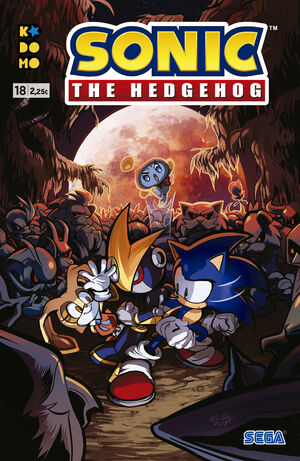 SONIC THE HEDGEHOG #18 (GRAPA - ECC)