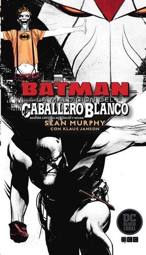 BATMAN: LA MALDICION DEL CABALLERO BLANCO (ED LIMITADA B/N DC BLACK LABEL)