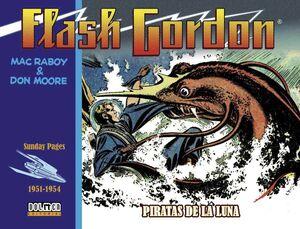 FLASH GORDON. PIRATAS DE LA LUNA 1951-1954