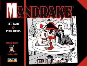 MANDRAKE EL MAGO 1956-1959. UN LUGAR LLAMADO X