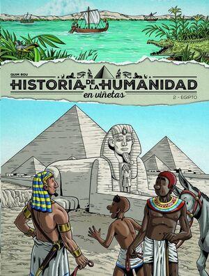 HISTORIA DE LA HUMANIDAD EN VIÑETAS N2. EGIPTO