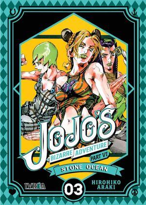 JOJO'S BIZARRE ADVENTURE PARTE 06: STONE OCEAN #03