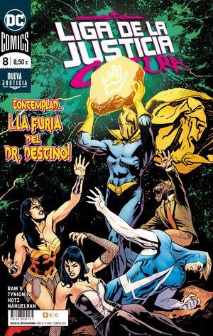 LIGA DE LA JUSTICIA OSCURA V2 #08. CONTEMPLAD... LA FURIA DEL DR. DESTINO!
