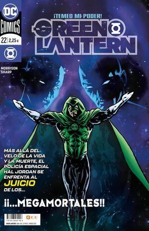 EL GREEN LANTERN #104 / 022 (GRANT MORRISON)