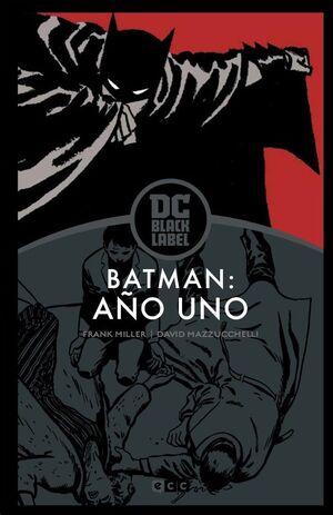 BATMAN: AÑO UNO - EDICION DC BLACK LABEL (TERCERA EDICION)