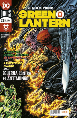 EL GREEN LANTERN #105 / 023 (GRANT MORRISON)