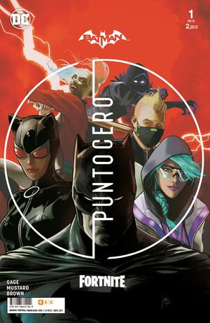 BATMAN / FORTNITE: PUNTO CERO #01