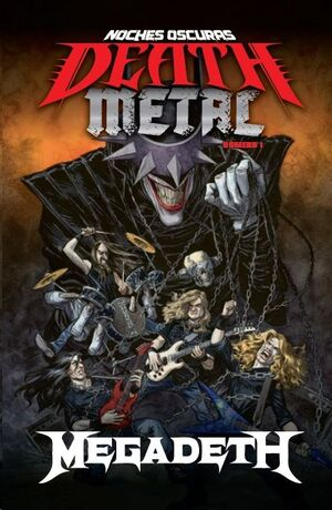 NOCHES OSCURAS: DEATH METAL #01 (MEGADETH BAND EDITION - RTCA)